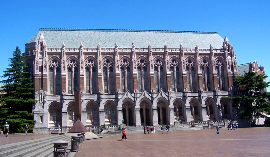 Suzzallo Library at U of Washington
